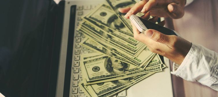 Online business can make more money, The dollar put around you.