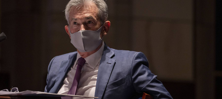 Federal Reserve Chairman Jerome Powell at a congressional hearing on June 30,2020