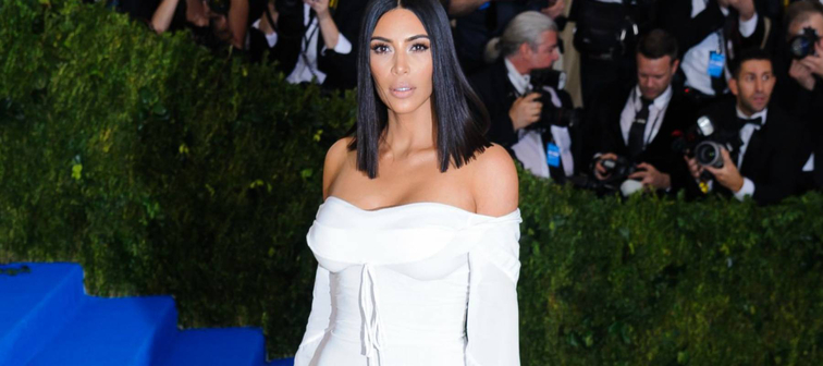 Kim Kardashian attends the 2017 Metropolitan Museum of Art Costume Institute Benefit Gala at The Metropolitan Museum of Art in New York, NY on May 1, 2017