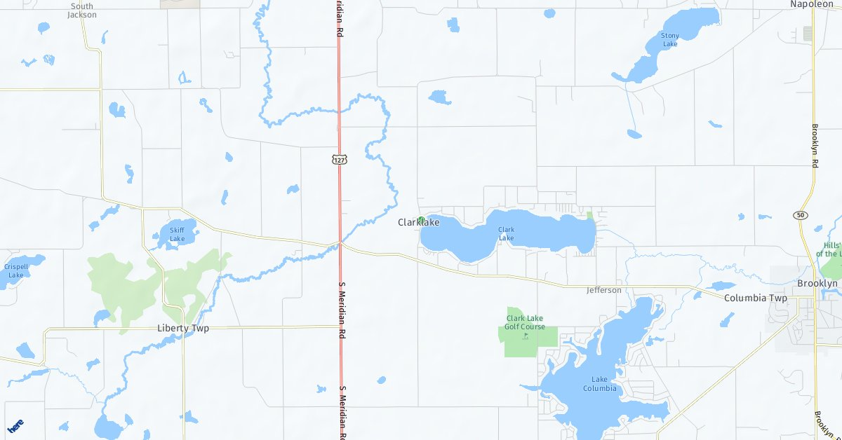 Clark Lake Michigan Map.Home Values For Clarklake Michigan In October 2018